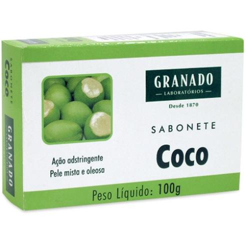 sabonete de coco granado