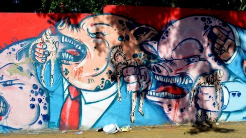 uma cidade com grafitis ótimos!