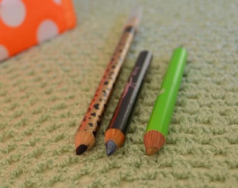 secret bag olhares lápis