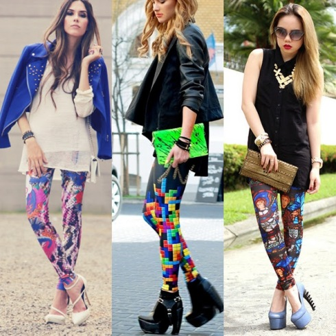 legging estampa variada
