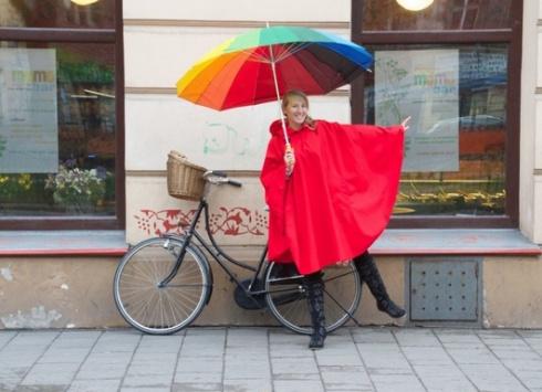 Capa de chuva da Bike Belle